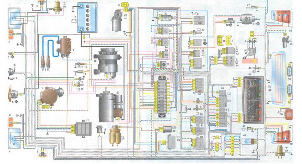 Электрические схемы ОКА (ВАЗ 1111 / 11113)